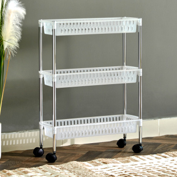 Filo 3-Tier Kitchen Trolley