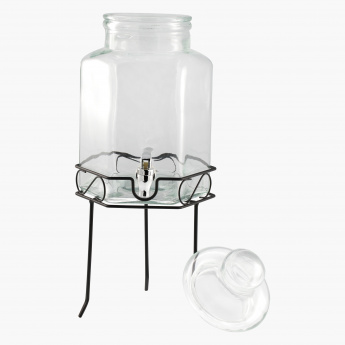 Fresh Beverage Dispenser with Stand - 5.5 L