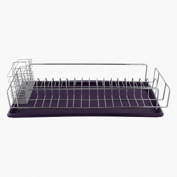 Slight Dish Rack with Caddies and Tray - 50 cms