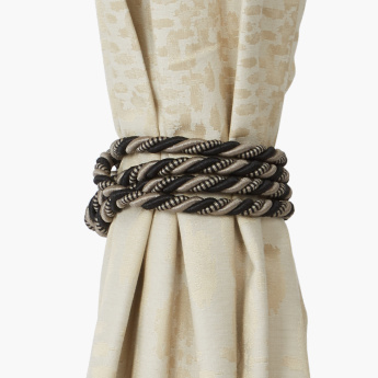 Emily Textured Tieback with Tassel
