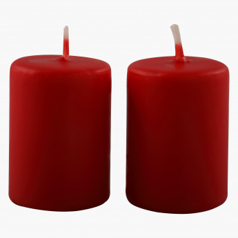 Luna Votive Candles - Set of 2