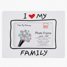 My Family Photo Frame - 4x6 inches