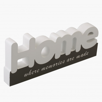 Home Decorative Accent - 21x9 cms