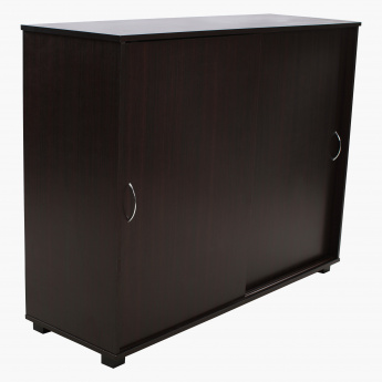 Klass 24-Pair Sliding Door Shoe Cabinet