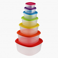 Rainbow 7-Piece Food Container Set