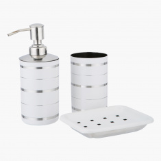 Rims 3-Piece Bath Set