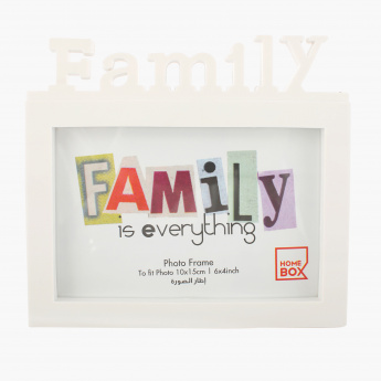 Family Photo Frame - 6x4 inches