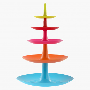 Coral 5-Tier Cake Stand - 28 cms