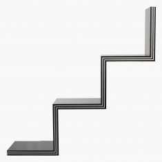 Novi Zig-Zag Wall Shelf
