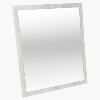 Olivo Mirror with Textured Border