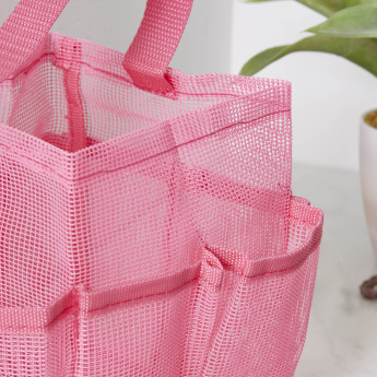 Candy Mesh Shower Tote