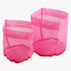 Candy Bathroom Mesh Basket - Set of 2