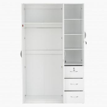 Klass New 3-Door Wardrobe
