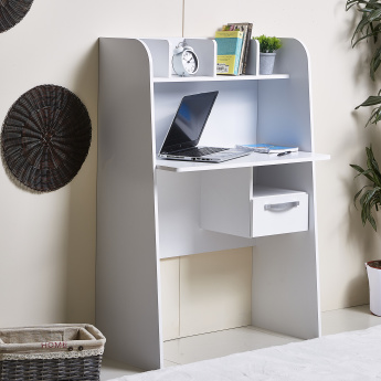 Capri Florence Study Desk and Hutch