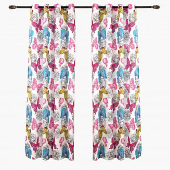 Butterfly Curtain - Set of 2