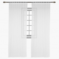 Nile Net curtain pair -140X240 cms
