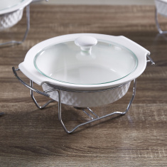 Supreme Round Casserole with Lid - 28 cms