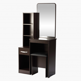 Agata Dresser with Mirror And Stool