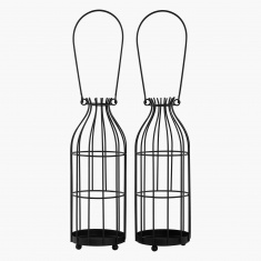 Cage Lanterns - Set of 2