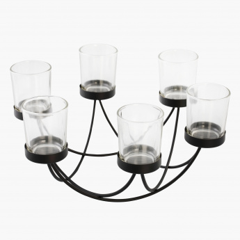 Zuby Candle Holder - 28 cms