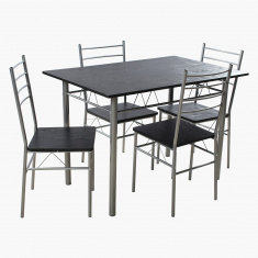 Novi 4-Seater Dining Table Set