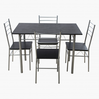 Novi 4 Seater Dining Table Set