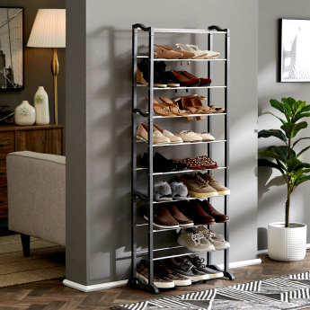 Saga 30-Pair Shoe Rack