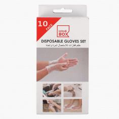 10-Piece Disposable Glove Set