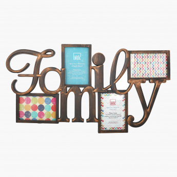 Family Aperture Photo Frame - 6x4 inch