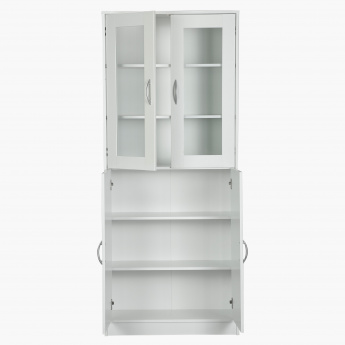 Niki 4-Door Bookcase