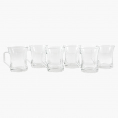 Crystal Zen 6 Piece Mug Set - 225 ml