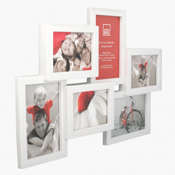 Hexad 6-Photo Collage Frame - 6x4 inch