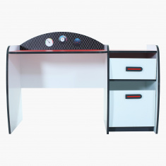 Capri Racer 2-Drawer Study Desk