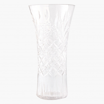 Crystal Cut Vase