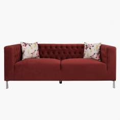 Revival 3-Seater Sofa with 2 Cushions