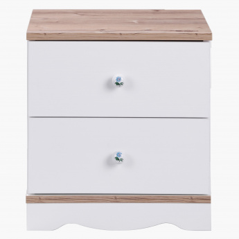 Camellia 2-Drawer Nightstand