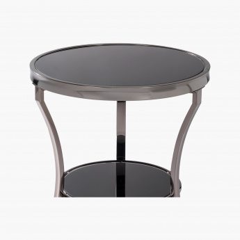 Eclips Round End Table