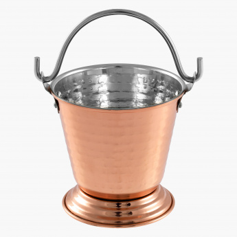 Copper Shine Gravy Bucket - 10.75 cms