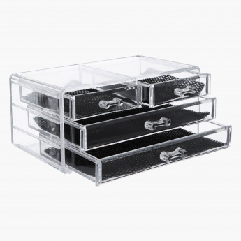 Crystal 4-Drawer Jewellery Box