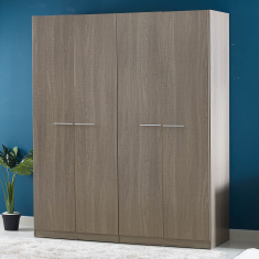 Cathy New 4-Door Wardrobe