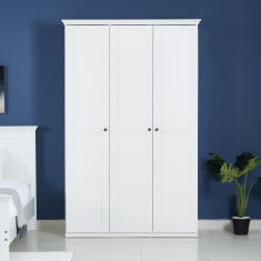Country 3-Door Wardrobe