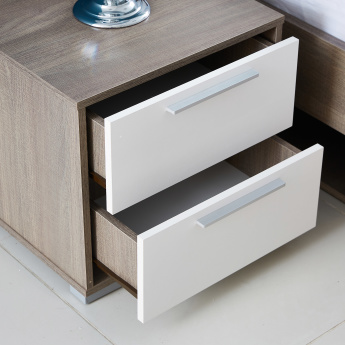 Cathy New 2-Drawers Night Stand