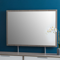 Cathy Rectangular Mirror without Dresser - 112x75 cms