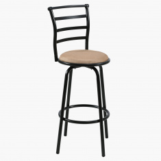 Zeta Cushioned Seat Bar Stool