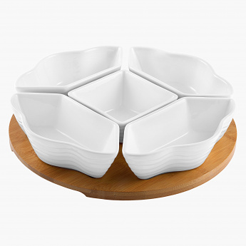 Occasion 5-Piece Bowl Set with Tray