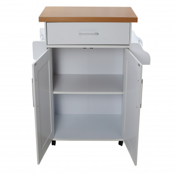 Pantry Microwave Cart