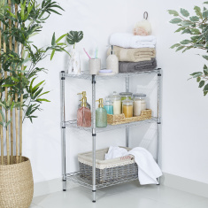 Kean 3-Tier Mini Wire Shelving Unit