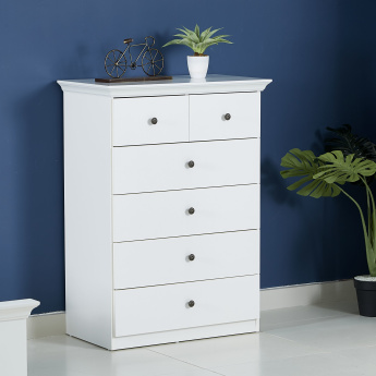 Country 6 Drawer Chest of Drawers