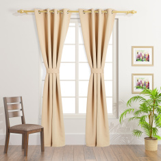 Blackout 4-Piece Curtain Set - 240x140 cms