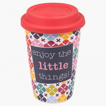 Little Things Printed Mug - 410 ml